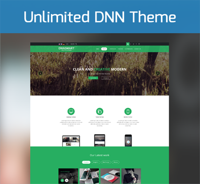 Unlimited Colors ZF0047 Responsive Theme